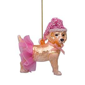 Новогоднее украшение Vondels Golden retriever dog w/skirt Арт.2182250090012