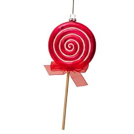 Новогоднее украшение Vondels Red lolly dia Арт.2152810210013