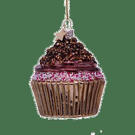 Новогоднее украшение Vondels Chocolate cupcake Арт.1202810080053