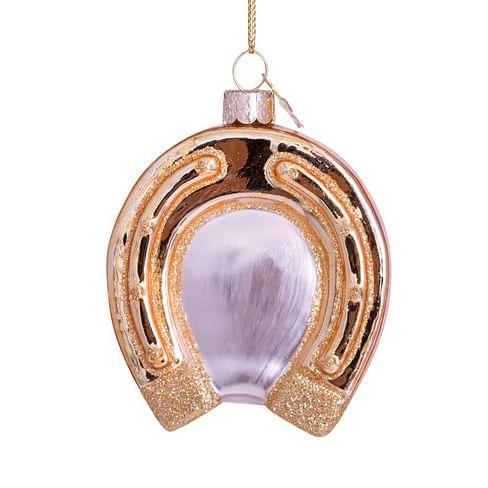 Новогоднее украшение Vondels Gold horseshoe Арт.1202800085013