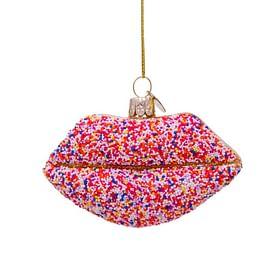 Новогоднее украшение Vondels Lips w/disco dip Арт.1197000060079