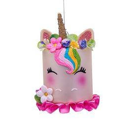 Новогоднее украшение Vondels White unicorn cake Арт.1192810075039