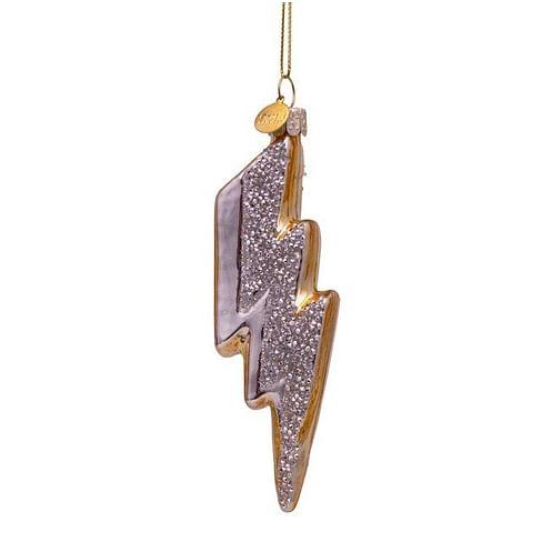 Новогоднее украшение Vondels Gold thunder w/diamonds Арт.1187000120057