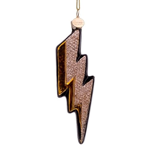 Новогоднее украшение Vondels Gold/black thunder w/glitter Арт.1187000120019