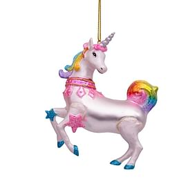 Новогоднее украшение Vondels Rainbow unicorn Арт.1187000110058