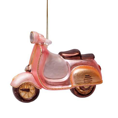 Новогоднее украшение Vondels Soft pink scooter Арт.1162740100019