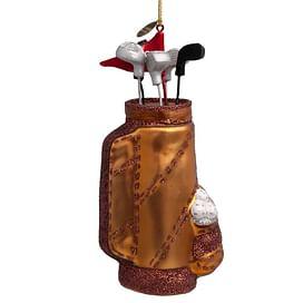 Новогоднее украшение Vondels Brown golf bag Арт.1152600150018