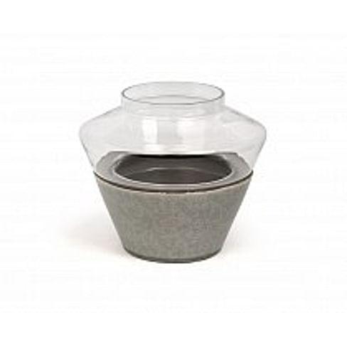 Подсвечник Dome Deco Tealight ceramics with glass top Арт.T2-C66/BE