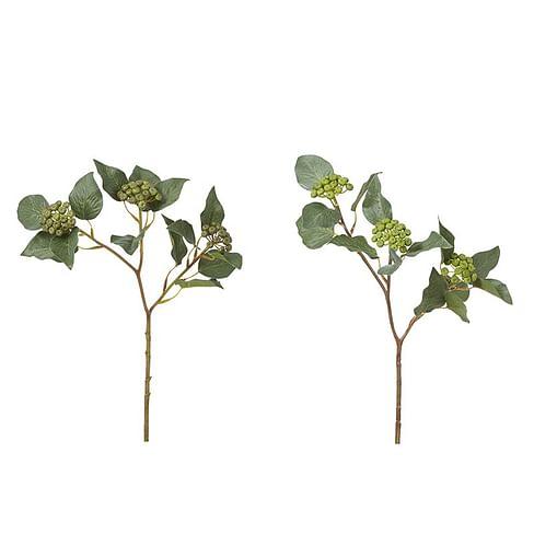 Ягоды с листвой SIA Арт.150227