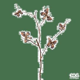 Ветка с бабочками EDG Enzo De Gasperi Арт.714287,91
