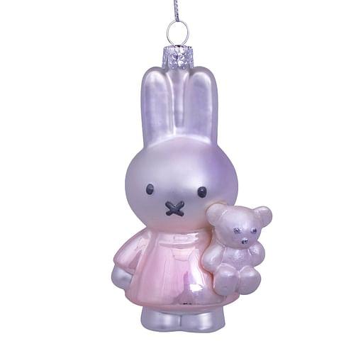 Новогоднее украшение Vondels Nijntje/Miffy baby pink w/bear Арт.5181234110118