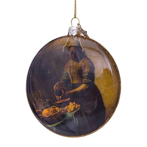 Новогоднее украшение Vondels The Milkmaid Vermeer Арт.3201360110058