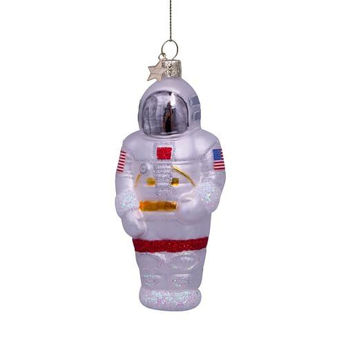 Новогоднее украшение Vondels White/silver astronaut Арт.5212100120013