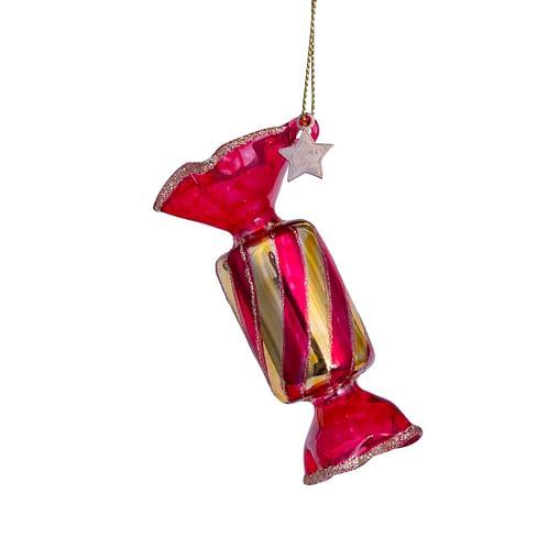 Новогоднее украшение Vondels Red transparant candy Арт.3212810070112