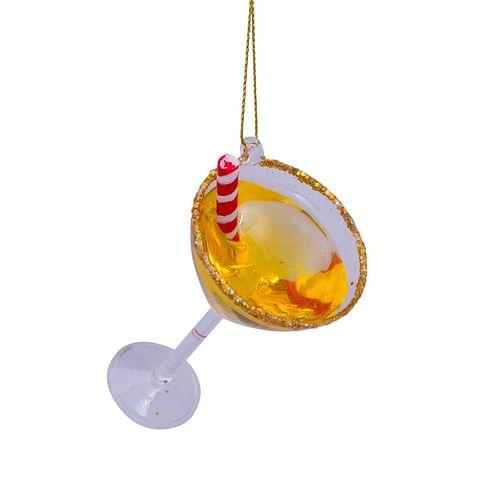 Новогоднее украшение Vondels Cocktail with straw Арт.5212810030015