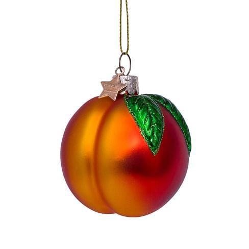 Новогоднее украшение Vondels Orange opal peach Арт.3212510075011