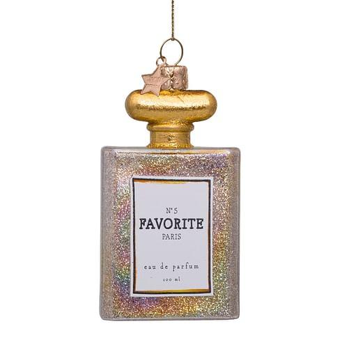 Новогоднее украшение Vondels Transparant oil parfume w/glitters Арт.4217000100036