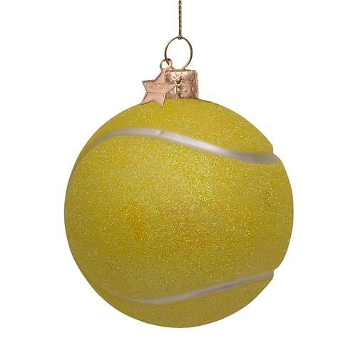 Новогоднее украшение Vondels Green tennis ball Арт.2212620087011