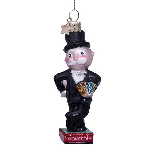 Новогоднее украшение Vondels Monopoly rich uncle Pennybags Арт.6217000100010