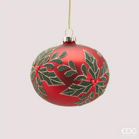 Новогоднее украшение EDG Enzo De Gasperi PALLA AGRIFOGLIO Арт.683668,40