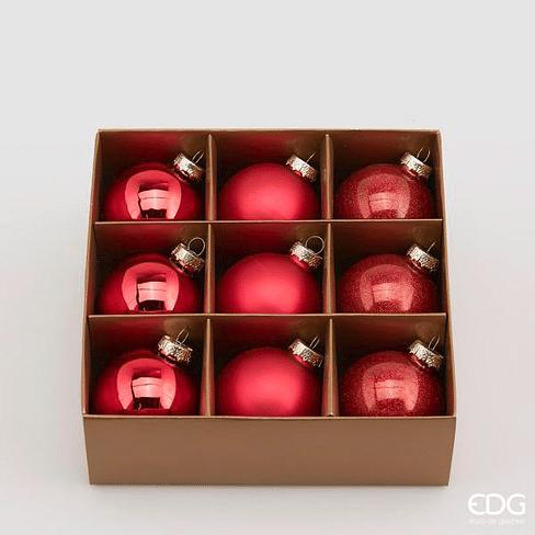 Новогоднее украшение набор EDG Enzo De Gasperi PALLA Арт.683707,40