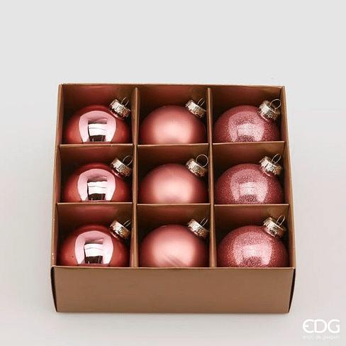 Новогоднее украшение набор EDG Enzo De Gasperi PALLA Арт.683707,50