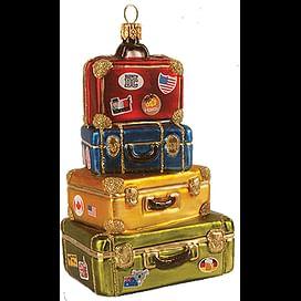 Новогоднее украшение Impuls Stack of Suitcases Арт.A2137