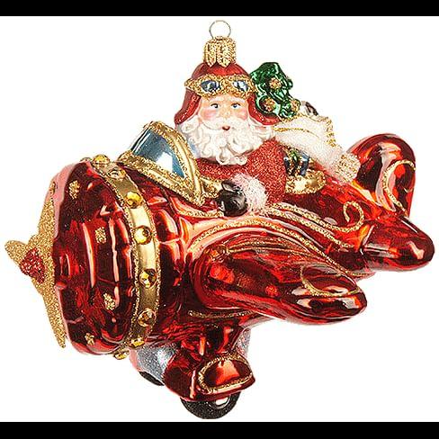 Новогоднее украшение Impuls Flying Santa Арт.A2200