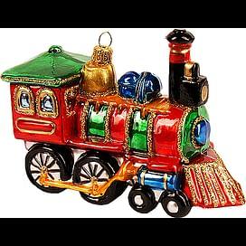 Новогоднее украшение Impuls Locomotive Арт.A1045.19