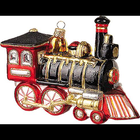 Новогоднее украшение Impuls Locomotive Арт.A1045.13