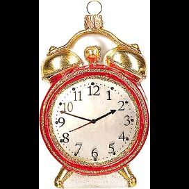 Новогоднее украшение Impuls Vintage Alarm Clock Арт.A1525