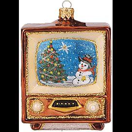 Новогоднее украшение Impuls Vintage TV Арт.A1508.06