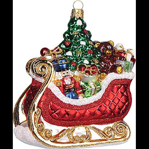Новогоднее украшение Impuls Santa's Sled Арт.A1117.15