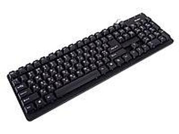 Клавиатура SVEN Клавиатура SVEN Standard 301 Black (USB) 105КЛ (стандартная для ПК, USB, влагозащита, цвет черный)