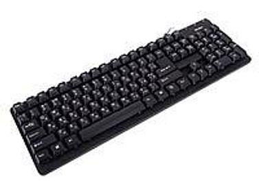 Клавиатура SVEN Клавиатура SVEN Standard 301 Black (USB&PS/2) 105КЛ (cтандартная для ПК, USB, влагозащита, цвет черный)