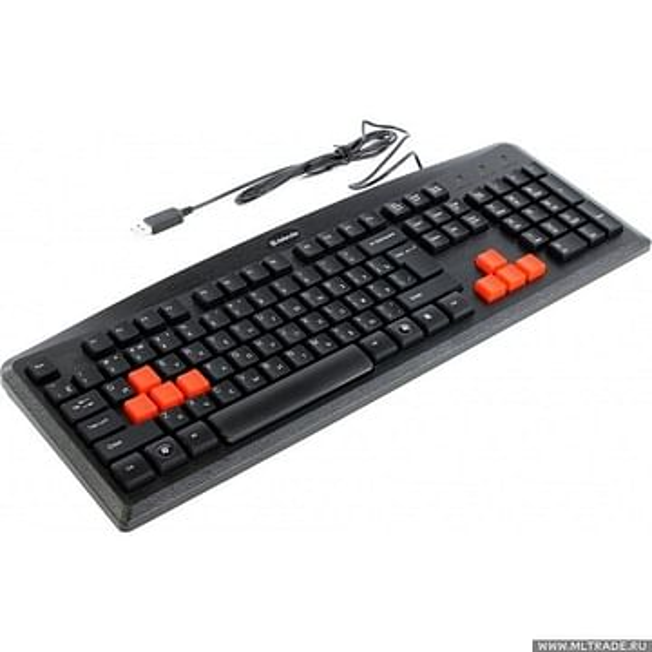 Клавиатура Defender Клавиатура Defender Warhead GK-1102 (USB) 104КЛ (45704)
