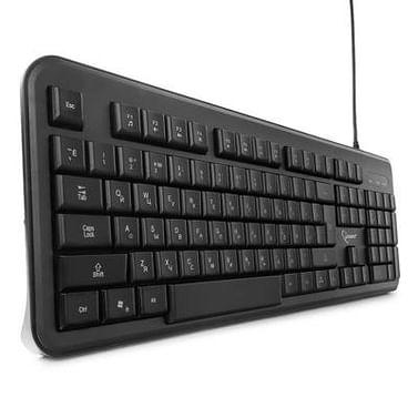 Клавиатура Defender Клавиатура Defender Oscar SM-600 Pro Black (45602) (стандартная для ПК, USB, цвет черный, 104КЛ)