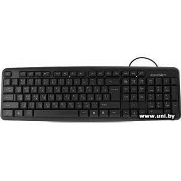 Клавиатура CROWN Клавиатура CROWN CMK-02 (107 клавиш, 3 клавиши управления питанием, длина провода: 1.8 м, USB)