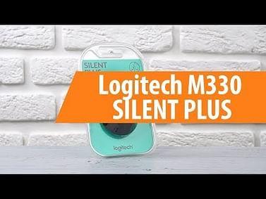 Мышь Logitech Мышь беспроводная Logitech M330 Silent Plus (910-004909) USB (полноразмерная мышь для ПК/для компьютеров Apple, радио, сенсор оптический 1000 dpi, 3 кнопки, колесо с нажатием, цвет черный)