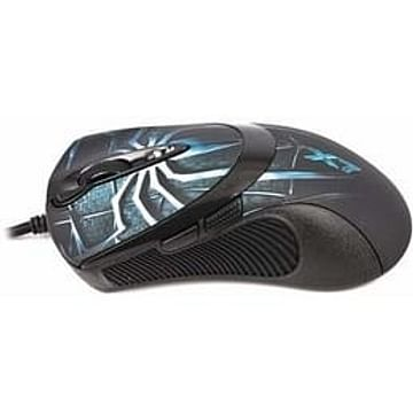Мышь A4Tech Мышь A4Tech XL-747H-Brown Gamer LAZER Mouse USB (полноразмерная игровая мышь, проводная, USB, сенсор лазерный 3600 dpi, 7 кнопок, колесо с нажатием)
