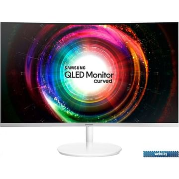 "Монитор Samsung 26.9"" Samsung C27H711QEI Black (16:9, 2560x1440, VA, изогнутый (1800R), 60 Гц, FreeSync, интерфейсы HDMI+Mini DisplayPort)"