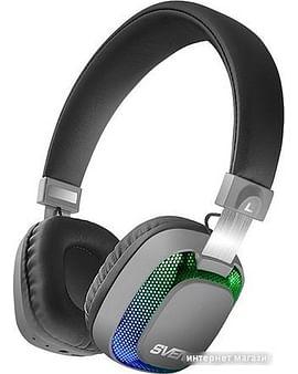 Наушники SVEN Наушники с микрофоном SVEN AP-B510MV (Black)(беспроводные наушники с микрофоном, портативные, оформление закрытое, излучатель 40 мм, 20-20000 Гц, 32 Ом, кабель 0.8 м, расстояние 10 м)