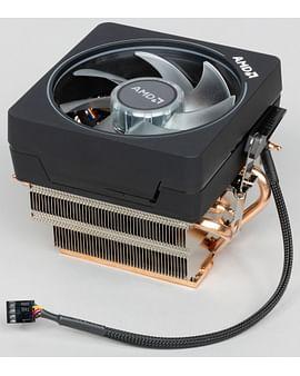 Кулер AMD Кулер S-AM4 AMD Wraith Prism RGB (Al+Cu, Тепловые трубки)
