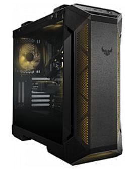 Корпус Asus Корпус ATX Без БП ASUS GT501 TUF GAMING Black (EATX, 2xUSB 3.1 Gen1, RGB подсветка, вентиляторы 120мм и 140мм, стеклянная боковая панель)