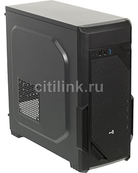 Корпус Aerocool Корпус ATX Без БП Aerocool Vs-1 Black