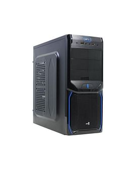 Корпус Aerocool Корпус ATX Без БП AeroCool V3X Evil Blue Edition Black 2xUSB+Audio