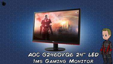 "Монитор AOC 24"" AOC G2460VQ6 черный"