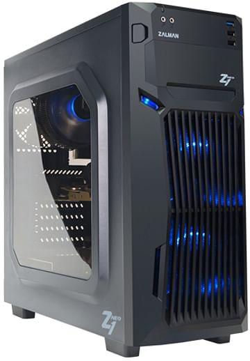 Игровой компьютер SNR AMD RYZEN 5 3600/8Gb DDR4/120Gb SSD+1.0Gb HDD/ RTX2060 Super 8Gb /600Wt