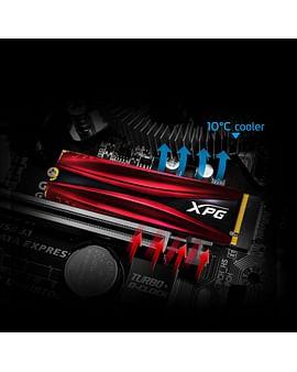 SSD A-Data SSD M.2 2280 M A-Data 256Gb XPG GAMMIX S11 Pro (AGAMMIXS11P-256GT-C)