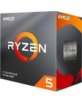 Процессор AMD Процессор Socket-AM4 AMD Ryzen 5 3600X (100-000000022) 4.4/3.8 GHz/6core/3+32Mb/95W oem